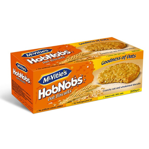 MCVITIES HobNobs Rolled Oat&Whole Wheat Biscuits 300g