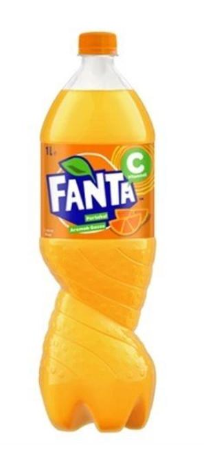 FANTA Orange Soda 1L
