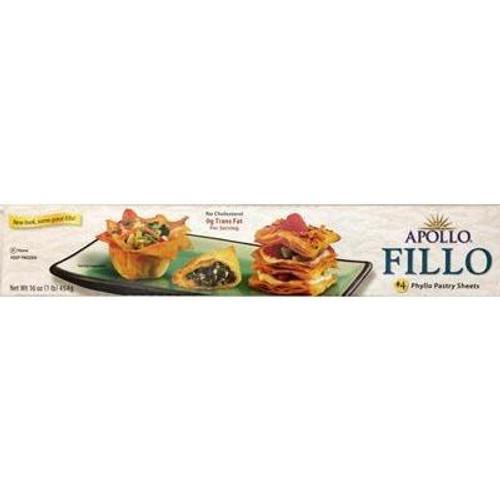 APOLLO #4 Fillo Dough (for Baklava) 454g