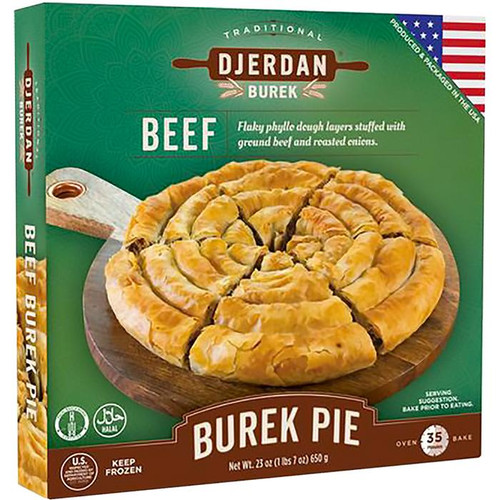 DJERDAN Burek Swirls w/Beef (Halal) 650g [GA STORE PICK UP AND LOCAL DELIVERY PRODUCTS ONLY]