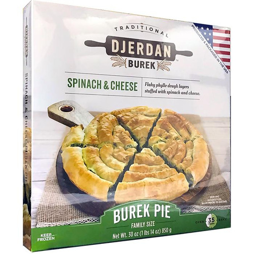 DJERDAN Burek Swirls w/Spinach & Cheese 850g [GA STORE PICK UP AND LOCAL DELIVERY PRODUCTS ONLY]