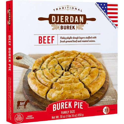 DJERDAN Burek Swirls w/Beef 850g [GA STORE PICK UP AND LOCAL DELIVERY PRODUCTS ONLY]