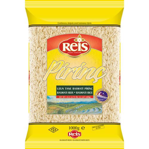 REIS Basmati Rice (Uzun Tane Basmati Pirinc) 1000g
