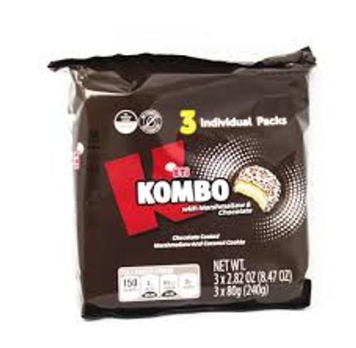 ETI Kombo w/Marshmallow & Chocolate 240g (ETI Benim'o)