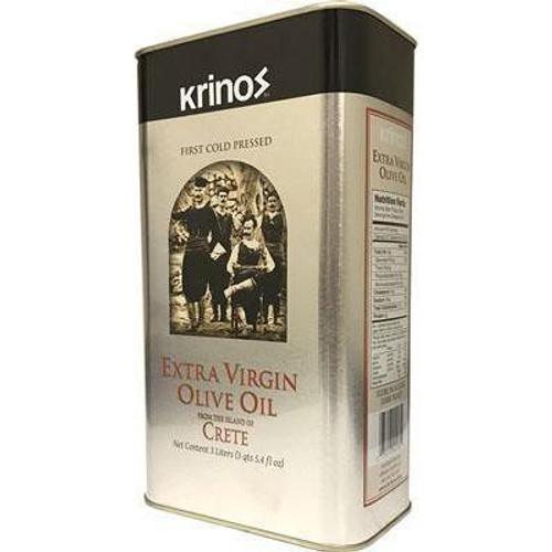 KRINOS Extra Virgin Olive Oil Crete 5.4 fl oz. (3 liters)