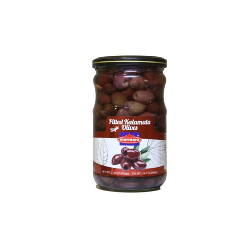 MARMARA Pitted Kalamata Olives - 400g Net Drained Weight