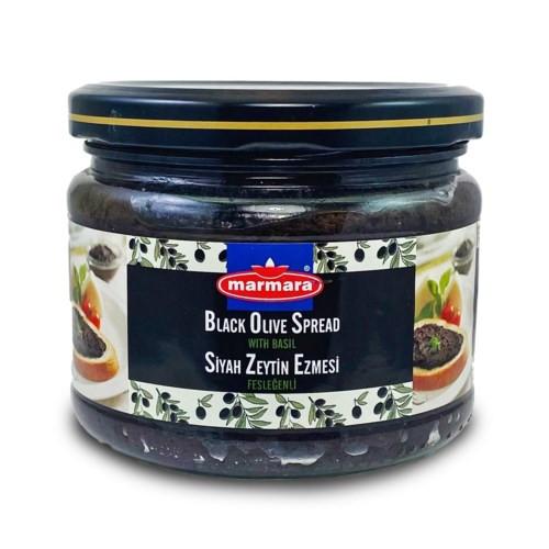MARMARA Black Olive Paste w/Basil 300g