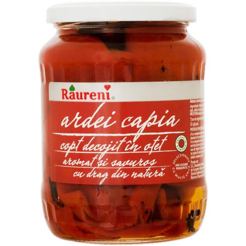 RAURENI Ardei Capia (Red Peppers in Vinegar) 700g