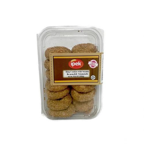 IPEK Ring Cookies w/Sesame (Kandil Simidi) 300g