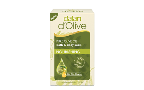 DALAN d'Olive Pure Olive Oil Bath&Body Soap ''Nourishing'' 200g