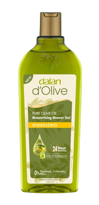 DALAN d'Olive Moisturizing Shower Gel ''Energizing'' 400ml