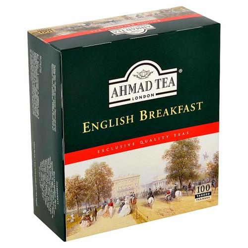 AHMADTEA English Breakfast Blend Tea (100 Tea Bags) 200g