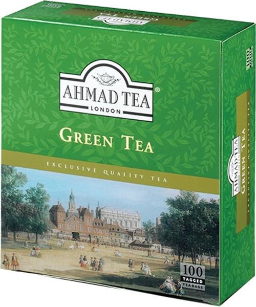 AHMADTEA Green Tea (100 Tea Bags) 200g