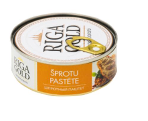 RIGA GOLD Smoked Sprats Pate 240g