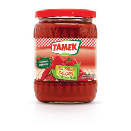 TAMEK Hot Pepper Paste (Acı Biber Salçası) 540g
