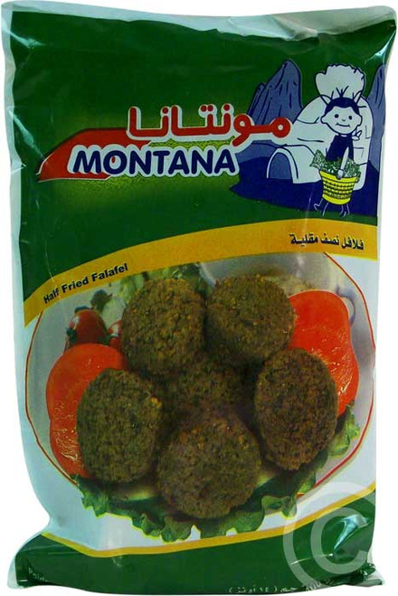 MONTANA Half-Fried Falafel 400g [GA STORE PICK UP AND LOCAL DELIVERY PRODUCTS ONLY]