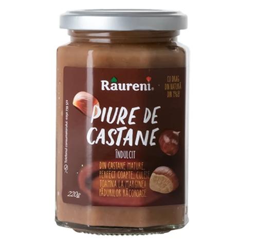 RAURENI Chestnut Puree (Piure de Castane) 220g