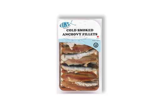 FINS Cold Smoked Anchovy Fillets 75g