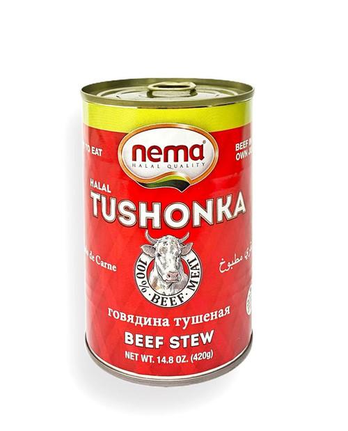 NEMA Tushonka / Beef Stew (Kavurma) 420g
