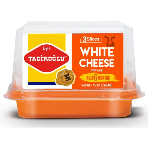TACIROGLU White Cow Cheese (6 Months Aged) 450g