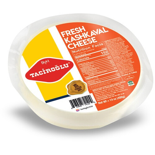 TACIROGLU Fresh Kashkaval Cheese 400g