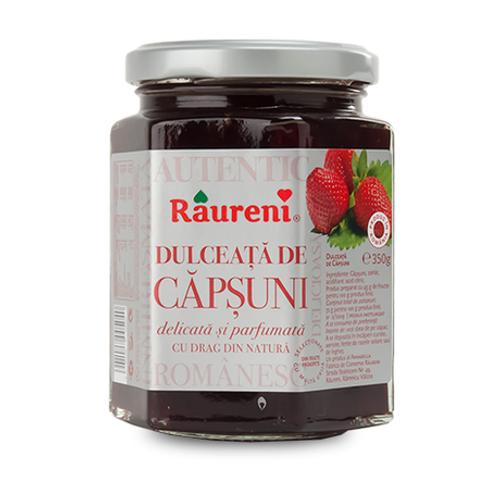 RAURENI Dulceata de Capsuni (Strawberry Preserve) 350g