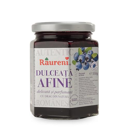RAURENI Dulceata Afuine (Blueberry Preserve) 350g
