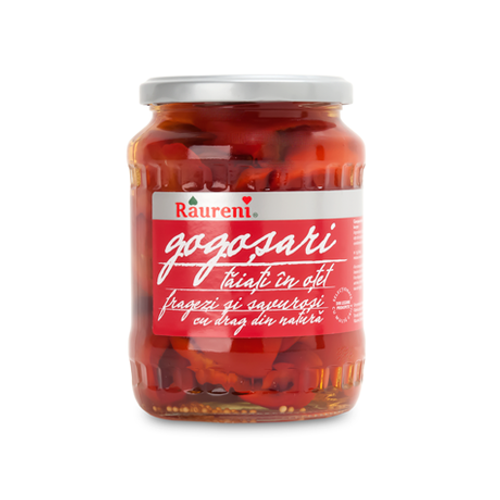 RAURENI Gogosari (Red Pepper Halves) 680g