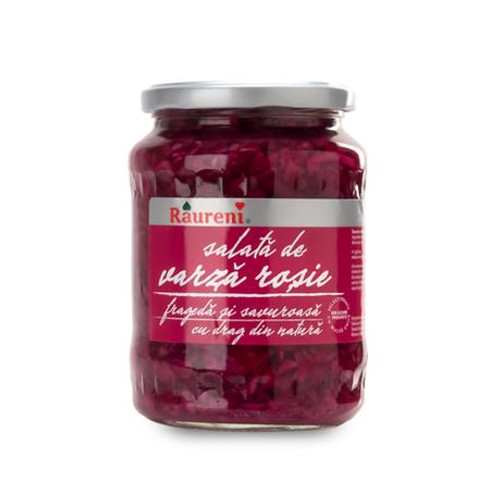 RAURENI Varza Rosie (Pickled Red Cabbage) 680g