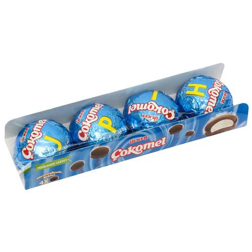 ULKER Cokomel Marshmallow Biscuit 4pc 48g