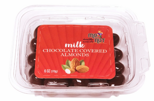 MR.NUT Milk Chocolate Covered Almonds 170g