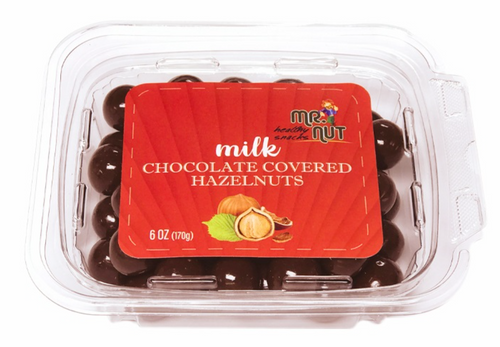 MR.NUT Milk Chocolate Covered Hazelnuts 170g