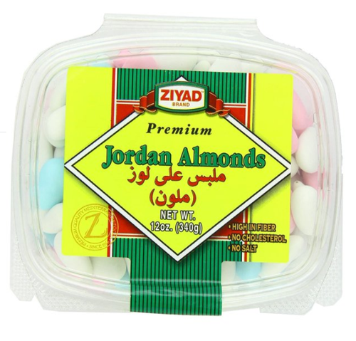ZIYAD Premium White Jordan Almonds 12oz - 340g