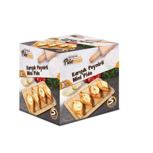 MINI PIDE W/MIX CHEESE (40GRX10PCS)