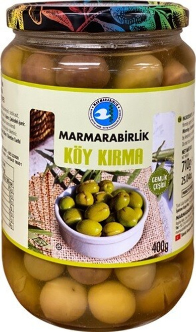 MB GREEN OLIVES KOY KIRMA M 261-290 400GR GLASS