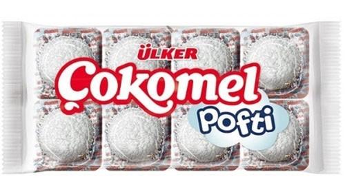 ULKER Cokomel Pofti White Granul 18g x 8pc