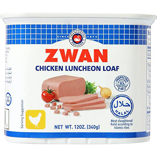 ZWAN Chicken Luncheon Loaf 340g