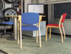 Ozone Conference Chair - Rounded Back, Armrests