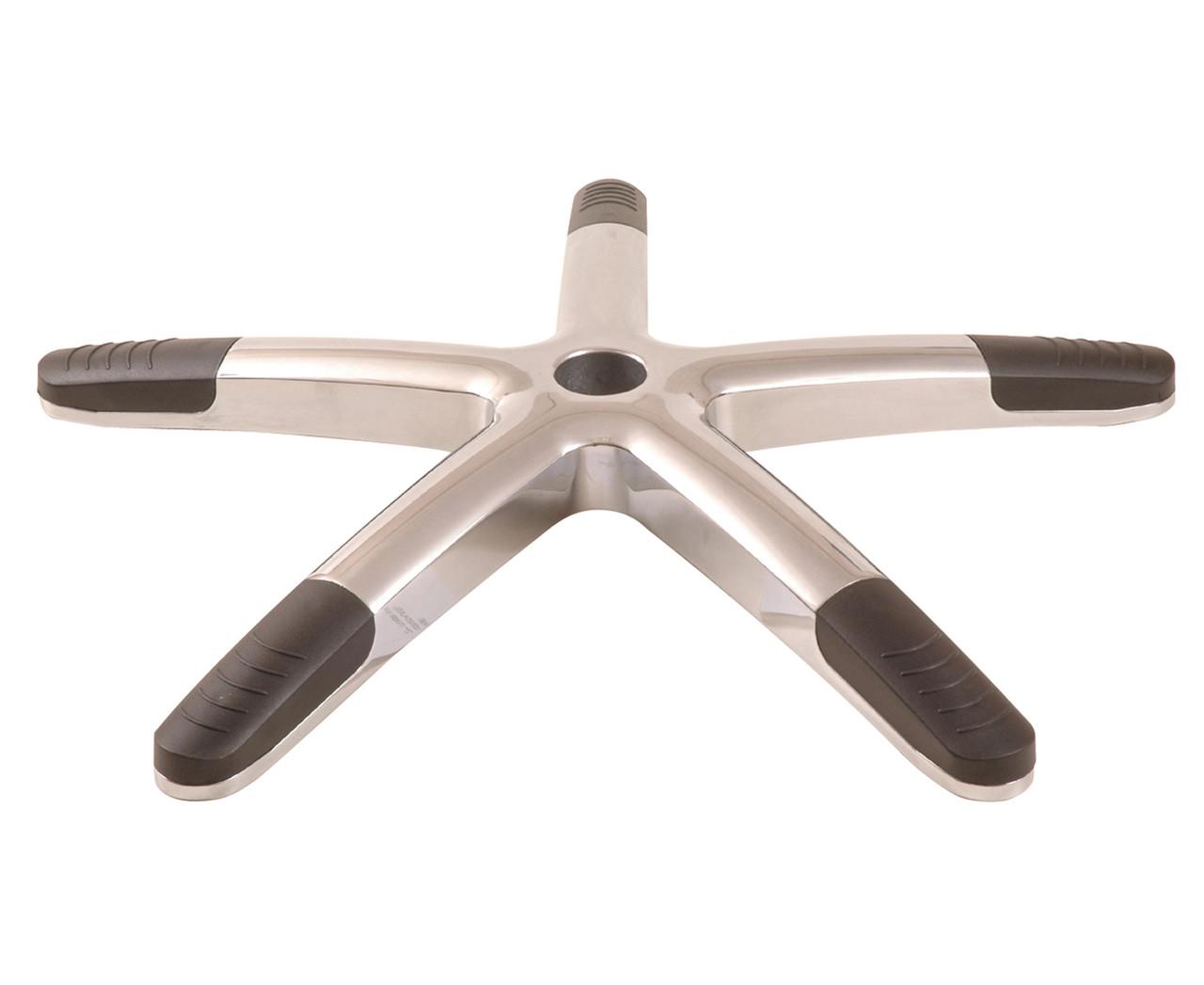 """ALA350 - Aluminium Chair Base 27"""" with Plastic Caps"""