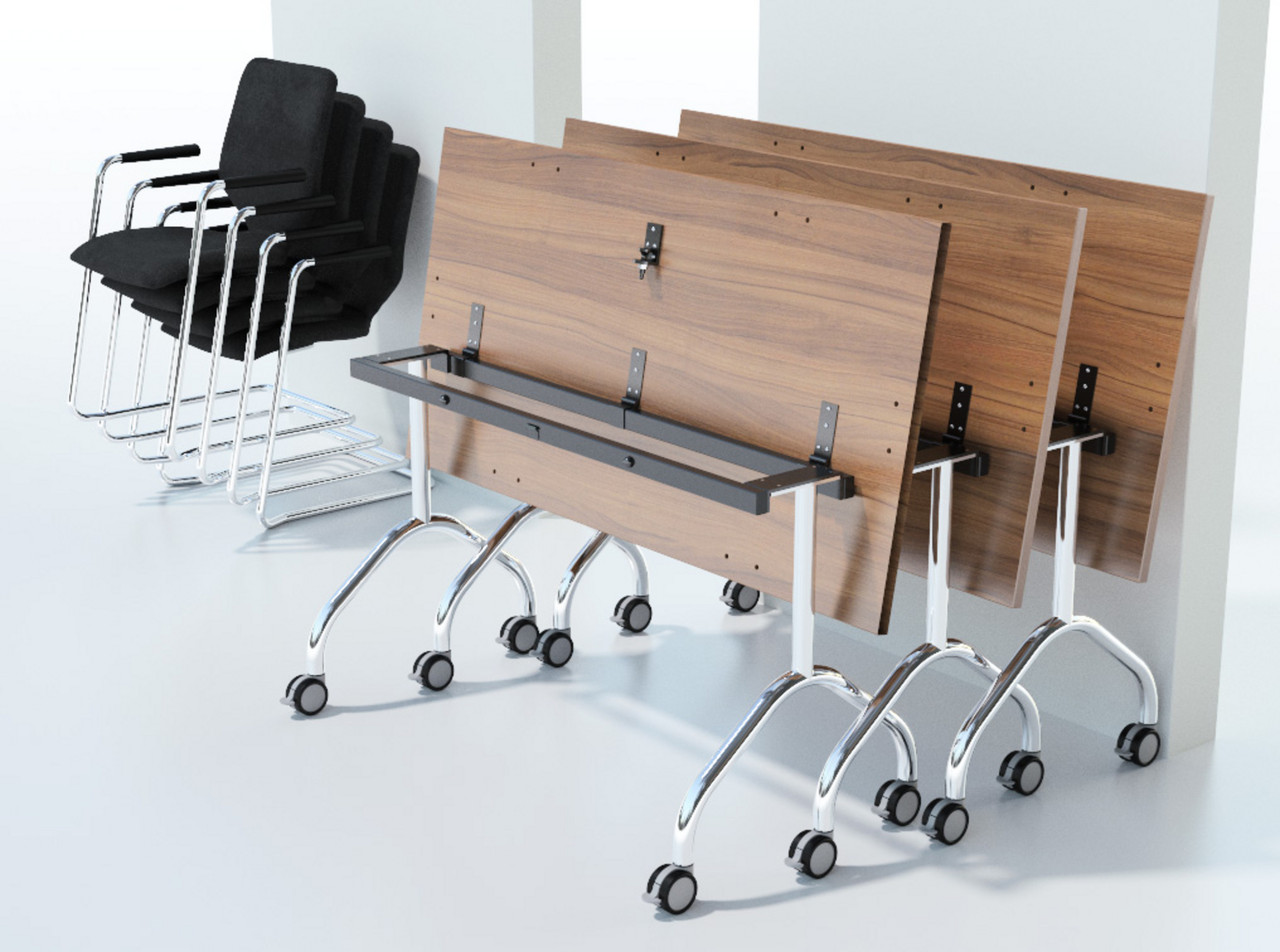 Modular Flip Top Office Tables