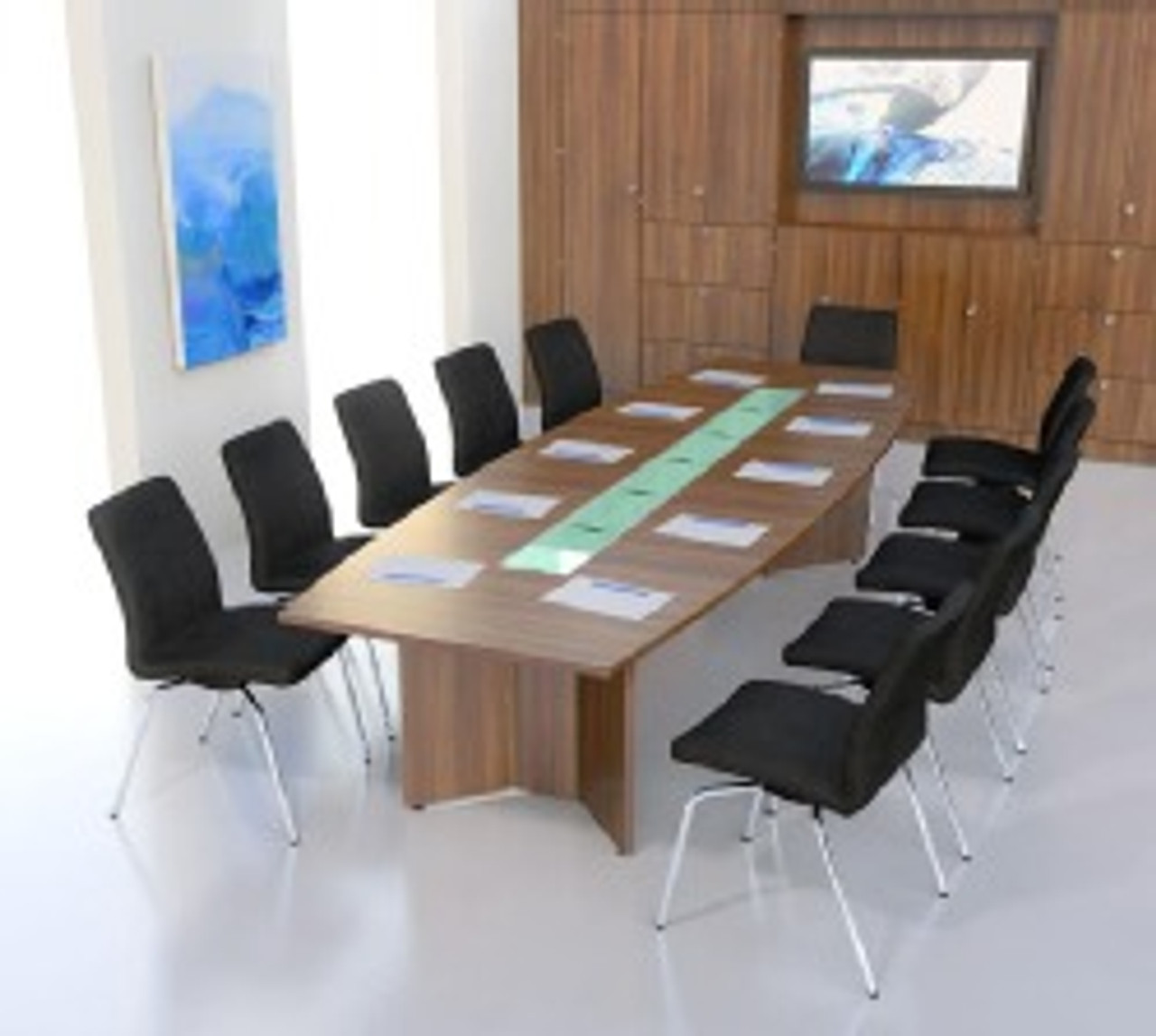 Ambus Barrel Meeting Table