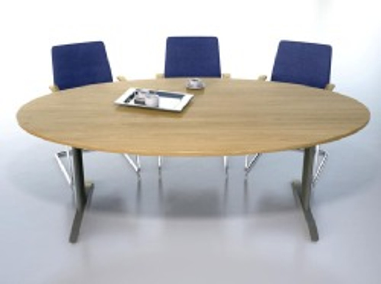 Ambus Oval Meeting Table