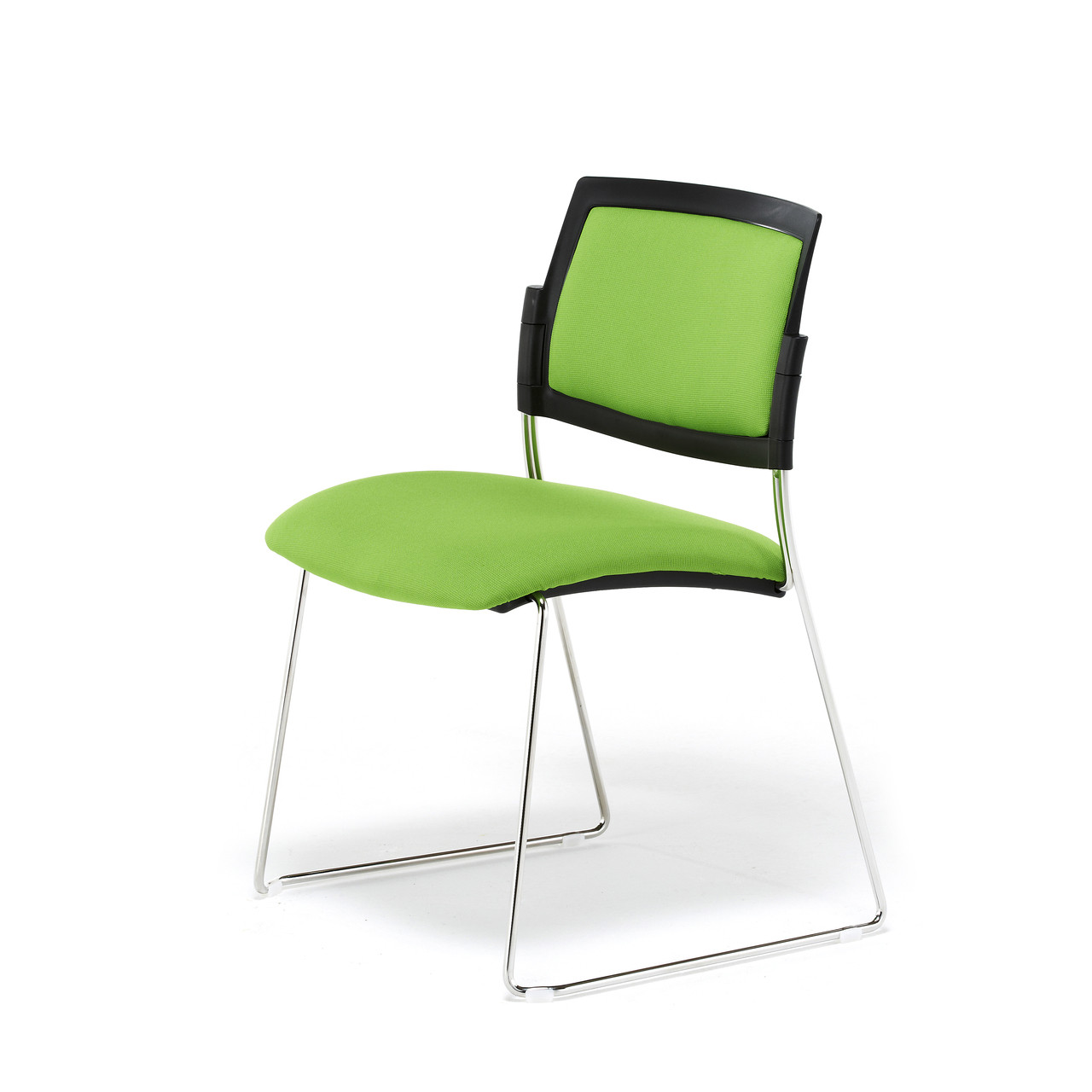 Satsu Upholstered Skid - Meeting & Visitor Chairs - MSS03