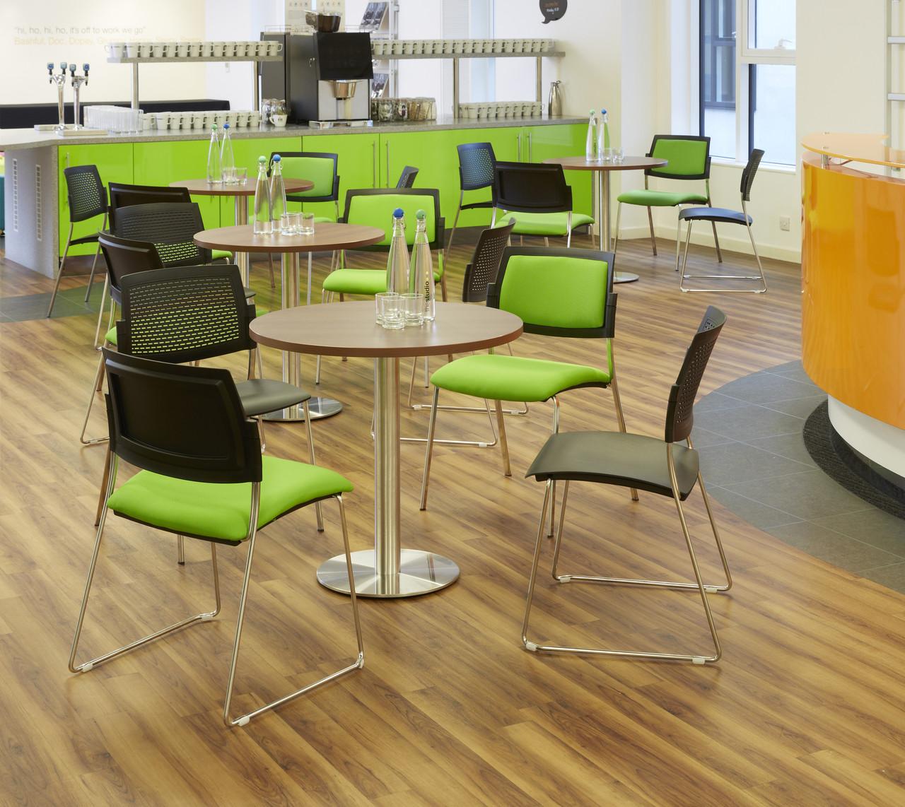 Satsu Upholstered 4-Leg - Meeting & Visitor Chairs - MSS04