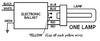 AC-2/26T4UVS1 1 Lamp Wiring