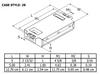 C2642UNVME Universal Triad  - Dimensions