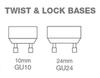 GU24 Base - Bottom