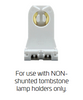 Use with Non-shunted sockets