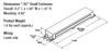 QHE3X32T8/UNV ISH-SC Dimensions