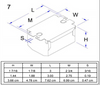 Robertson S1P Magnetic Ballast Dimensions